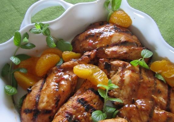 how to pre prepare frozen crumbed chicken breat