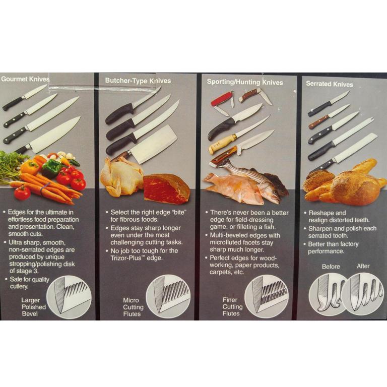 Chefs Choice Edgeselect Diamond Hone Electric Knife Sharpener 120
