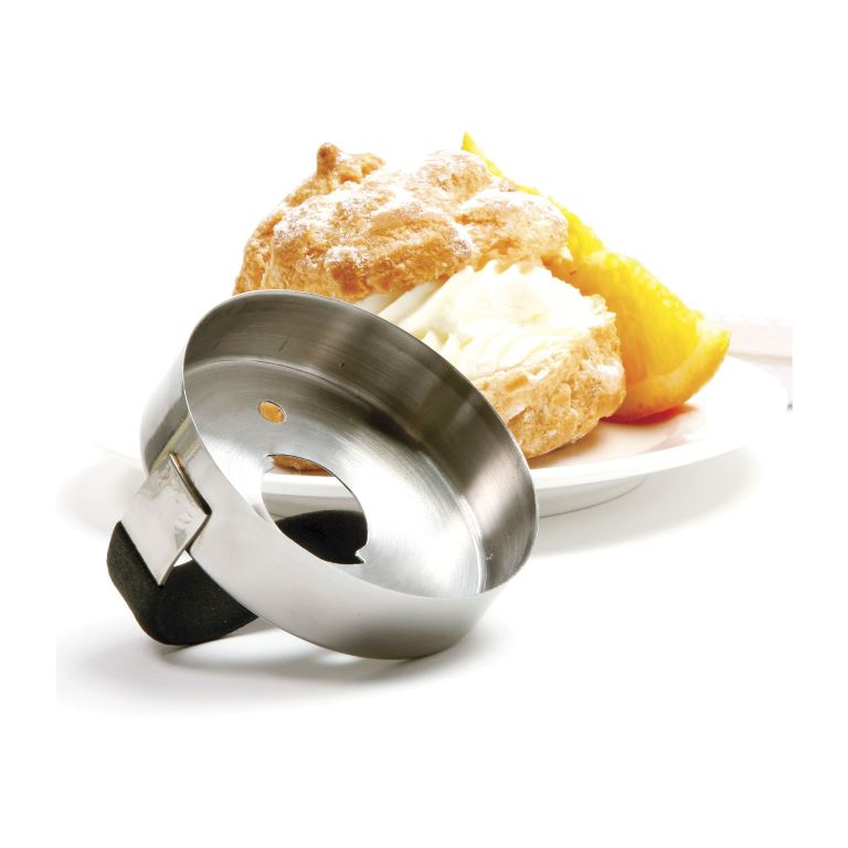 Donut Biscuit Cutter W Snap In Out Centre Country Lane