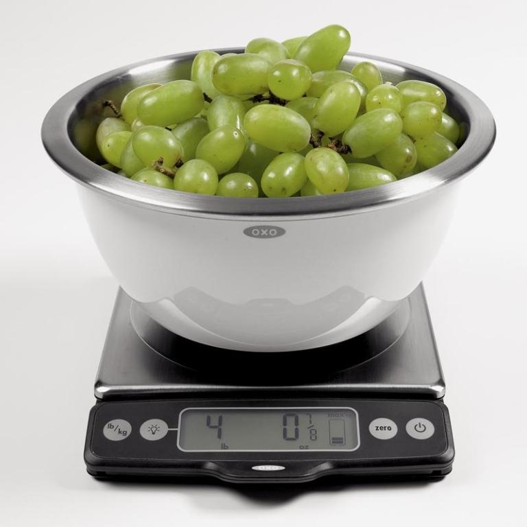 Oxo Good Grips 11lb Food Scale With Pull Out Display