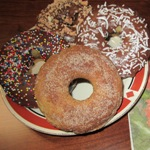 Country Lane Kitchens' Chocolate Cake Donuts