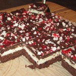 Gluten-Free Peppermint Brownie Bars
