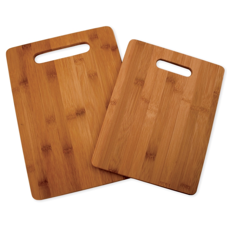 Totally Bamboo 2 Piece Cutting Board Set