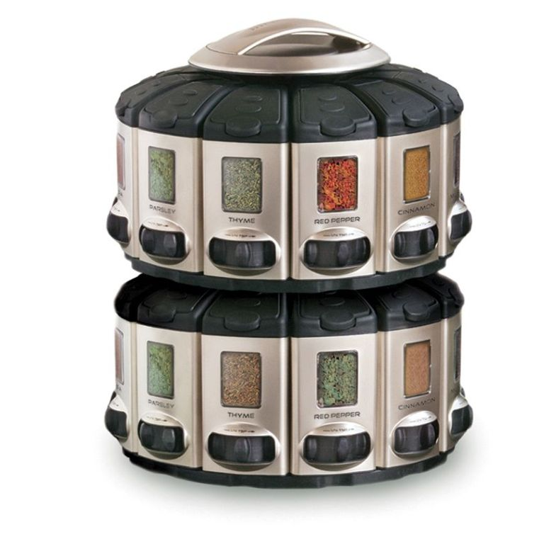 Rotating Spice Carousel Country Lane Kitchens