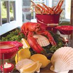 Nantucket Seafood 8 piece Seafood Set