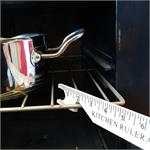Magnetic Kitchen Ruler and Oven Rack Push / Puller
