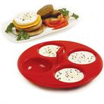 Silicone 4 Egg Poacher